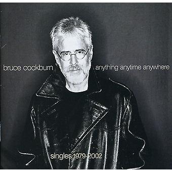 Bruce Cockburn - noget når som helst hvor som helst [CD] USA import