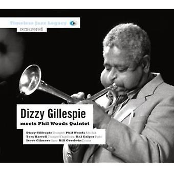 Dizzy Gillespie - møder Phil Woods Quintet [CD] USA import