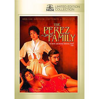 Perez familie [DVD] USA importeren