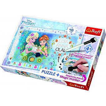 Trefl Puzzle congelati + Magic 70b m.