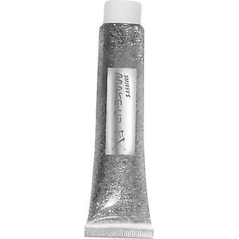 Silver glitter gel 20 ml tube