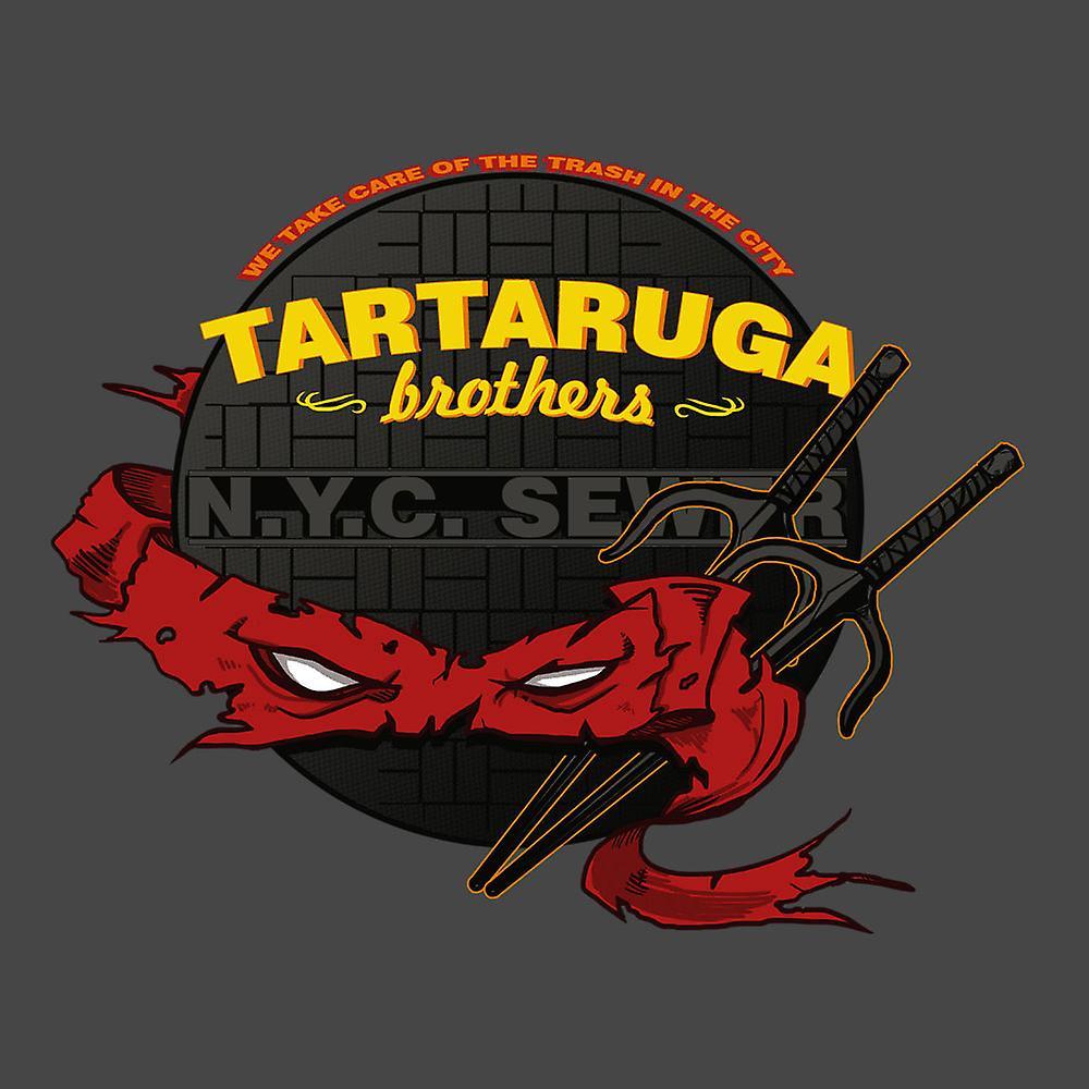Tartaruga Brothers Teenage Mutant Ninja Turtles Raphael Women's T-Shirt