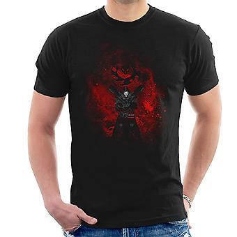 Reaper Art Overwatch Men's T-Shirt