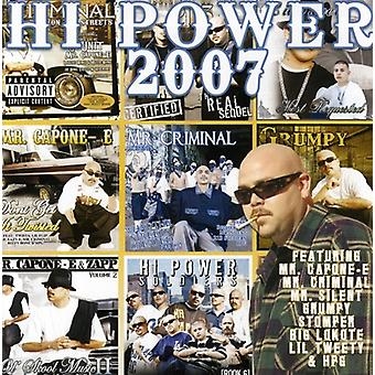 Hola Power 2007 - Hola 2007 [CD] USA importación de energía