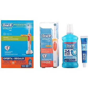Oral B Vitality Cross Action Health Lot 3 Pieces