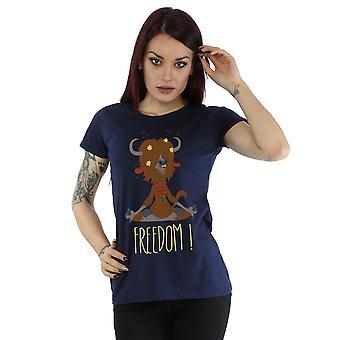 Disney Women's Zootropolis Yak Freedom T-Shirt