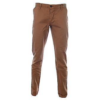 Franklin & Marshall Richards Bronze Slim Fit Chino