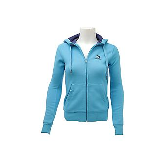 Salomon Logo FZ Hoodie 353486 Womens sweatshirt