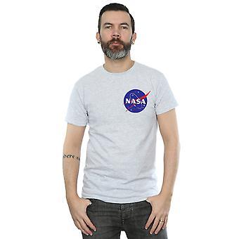 NASA Men's Classic Insignia Chest Logo T-Shirt