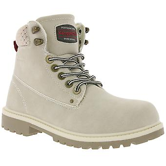 KangaROOS Riveter W I ladies ankle boots beige with pull tab