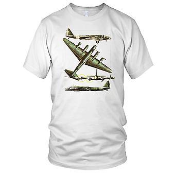 Italian Air Force Piaggio P108 Bomber Mens T Shirt