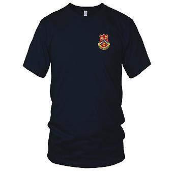 US Army - 102nd Field Artillery Regiment Embroidered Patch - Mens T Shirt