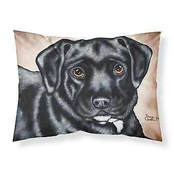 Black Bart the Labrador Fabric Standard Pillowcase