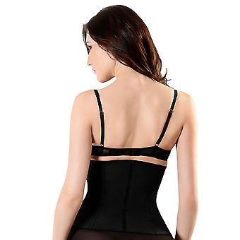 Esbelt ES419 Women's Black Firm/Medium Control Slimming Shaping Waist Cincher