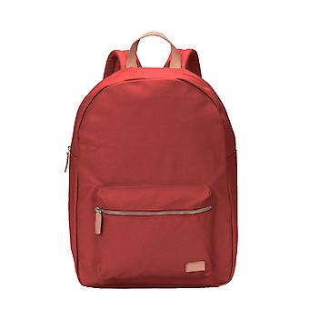Levis Backpack Backpack daypack printed canvas dark red