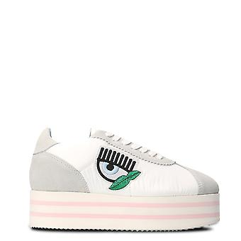 Chiara Ferragni women's CF1715 White leather of sneakers