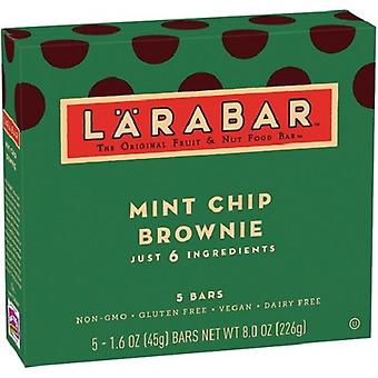 Larabar Mint Chip Brownie Fruit & Nut Food Bar 2 Box Pack