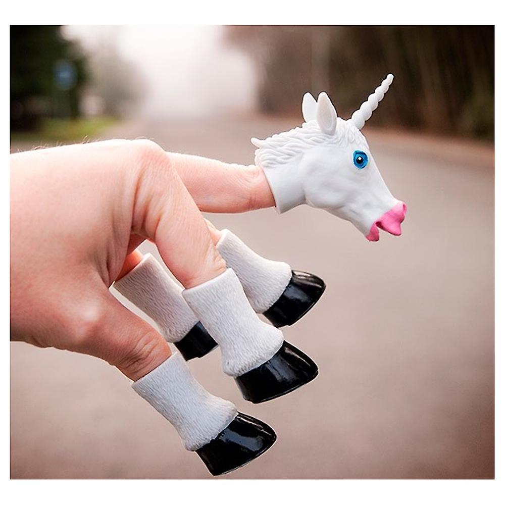Utstyrsel & vänner Handicorn, den Unicorn handdocka