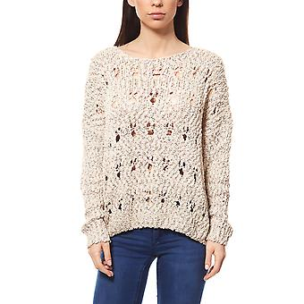 B.C.. best connections ladies knitting sweater beige