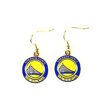 Golden State Warriors NBA Sophie Style Dangle Earrings