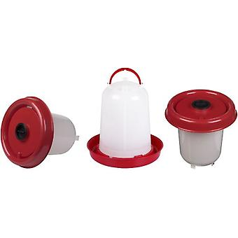 Gaun Eco Chicken Drinker 10 L. With Plung (Red) (Birds , Chickens , Feeders and drinkers)