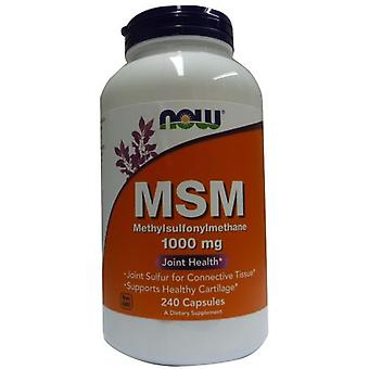 Now Foods Msm Methylsulphonylmethane 1000 mg 240 Capsules