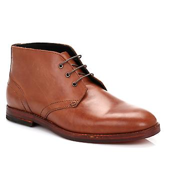 Hudson Mens Tan Houghton 2 Leather Boots