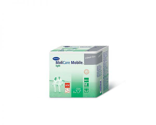 Molicare Mobile Light Medium - Unisex Pull-up Pants For Moderate Incontinence - Pack Of 14
