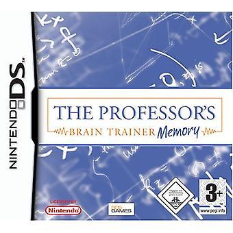 De professoren Brain Trainer geheugen (Nintendo DS)