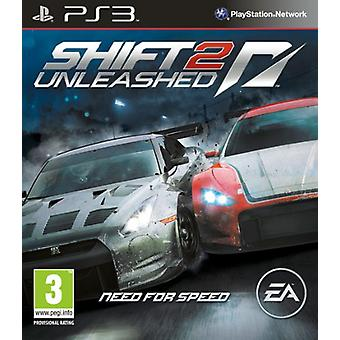 Need for Speed Shift 2 Unleashed (PS3) - Usine scellée