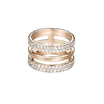 ESPRIT women's pierścień ze stali nierdzewnej stali cyrkonia różowych JW52896 ESRG02784C