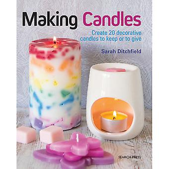 Search Press Books-Making Candles