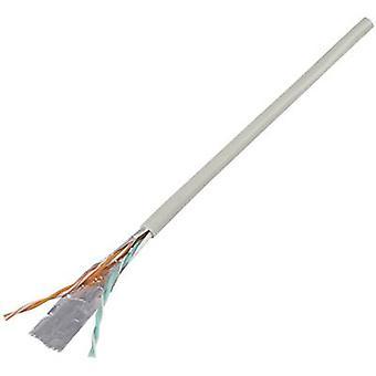 Componentes Conrad 1226966 Cable de teléfono J-Y(ST)Y 2 x 2 x 0.60 mm Gris 10 m