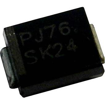 PanJit Zener diode 1SMB2EZ43 Enclosure type (semiconductors) DO 214AA Zener voltage 43 V Power (max) P(TOT) 2 W
