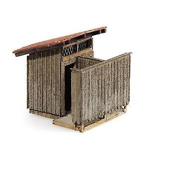 MBZ 10468 H0 Toilet shed