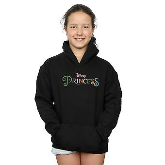 Disney Princess Girls Colour Logo Hoodie