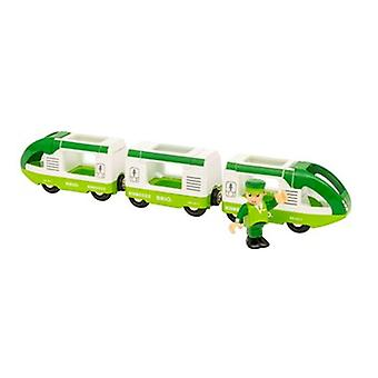 BRIO Green Travel Train 33622 for Wooden Train Set