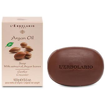 L'Erbolario Argan Oil Soap 100 gr (Hygiene and health , Shower and bath gel , Hand soap)