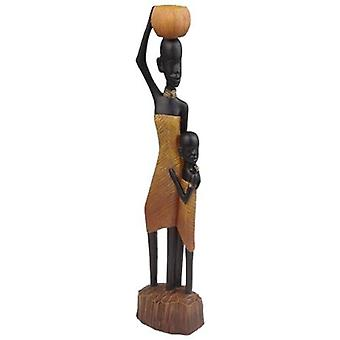 Wellindal Figure African Woman and Child (Decoration , Figures and statues)