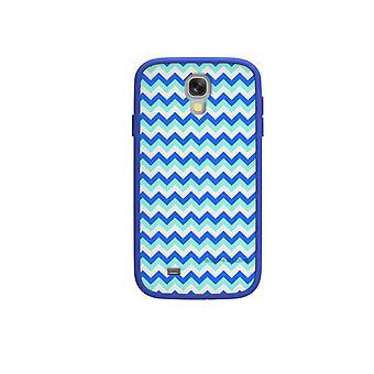 Body Glove MySuit Case for Samsung Galaxy S4 (Blue/Chevron)