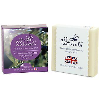 Alle natürlichen organischen Ekzemen Seife Olivenöl und Calendula 100g