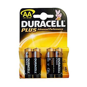 Duracell MN1500PLUS-B4 Duracell Plus Alkaline Battery AA Size