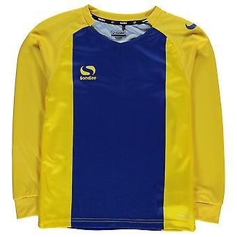 Sondico Kids Boys Valencia Jersey Junior Long Sleeve Performance Shirt Round