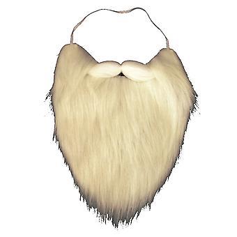 Barbas de Santa con máscara duende ignífugo elástico