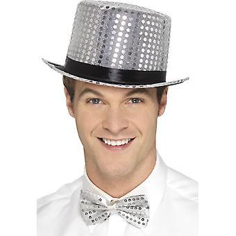 الترتر قبعة، فضة
