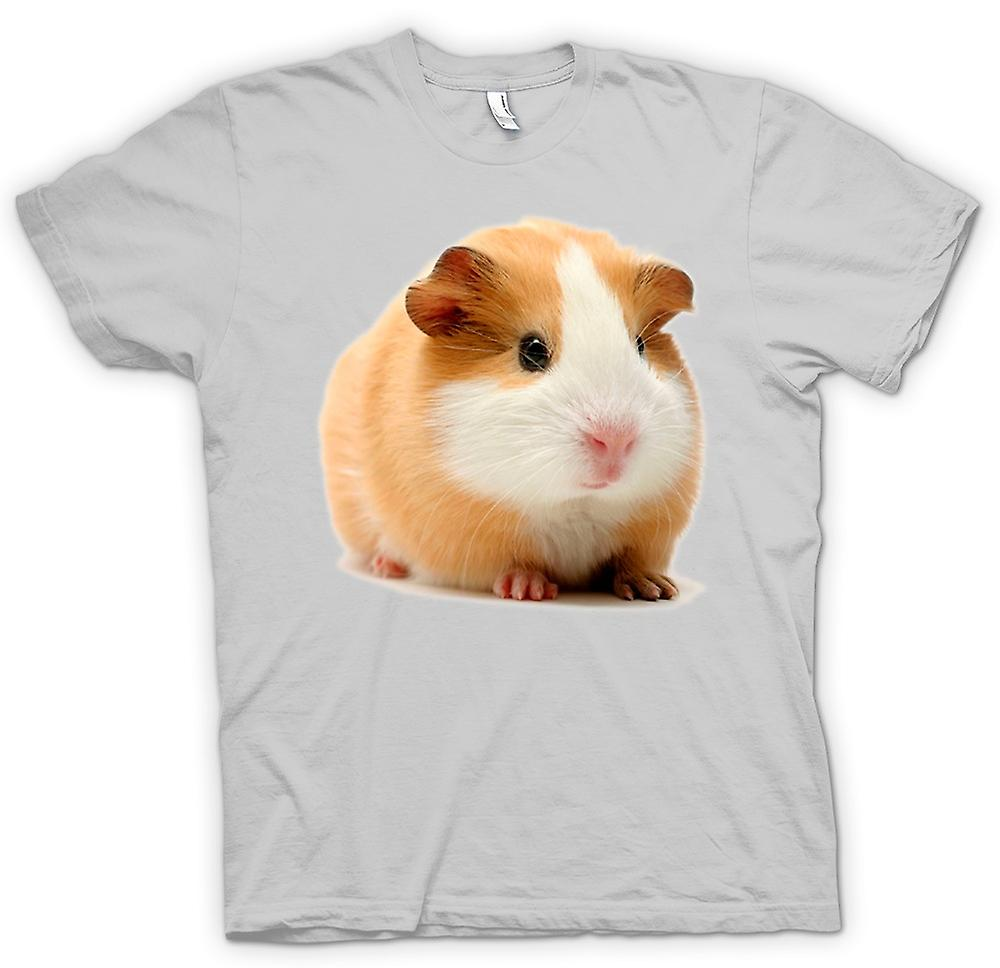 Heren T-shirt - cavia - Blonde - schattig