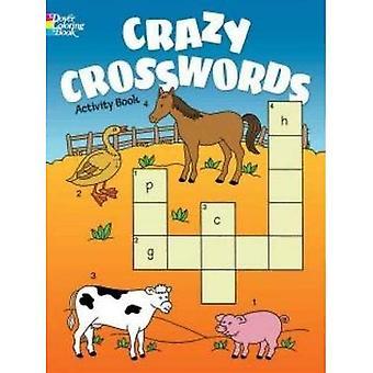 Crazy korsord aktivitetsbok (Dover målarböcker för barn)