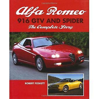 916 del Alfa Romeo GTV y araña: la historia completa