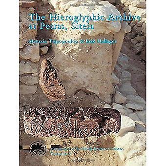 Hieroglyfiska arkivet på Petras, Siteias