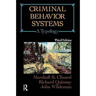 Criminal Behavior Systems by Clinard & Marshall Barron